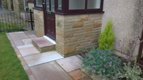 Lakeland sandstone, Ribble Valley, paving